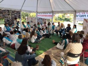רב שיח באוהל האמהות