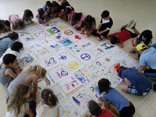 peace quilt children