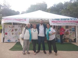 דוד מזרחי באוהל האמהות
