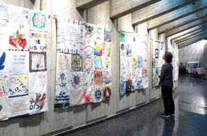 peace quilt exhibition
