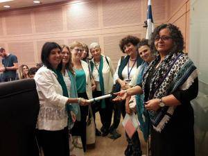 knesset with mk aida toma souliman