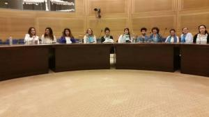 youngwwp inside the knesset