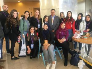 congress young activists with isseldin abuelaish
