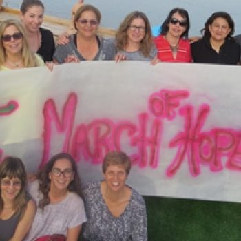 March of hope banner