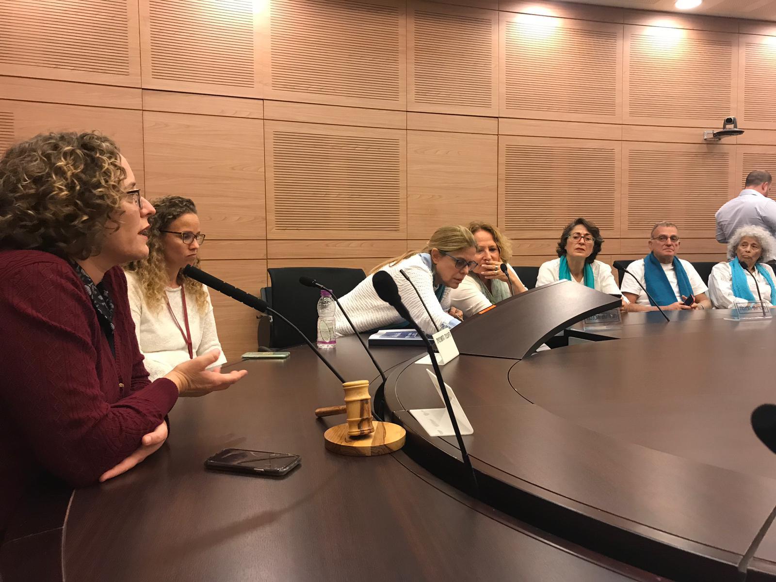 נשים עושות שלום עם ח״כ  יעל כהן פארן