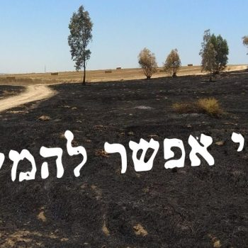 Negev burnt fields