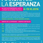 גלויית צעדת התקווה ספרדית