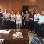 ראש עירית סאחנין עם נציגות נשים עושת שלום