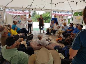 ohel settlers visit295