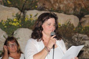 לילי וייסברגר במפגש סלט ישראלי אשקלון
