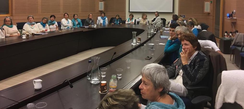 נשים עושות שלום עם ח״כ מוסי רז (מר״צ)